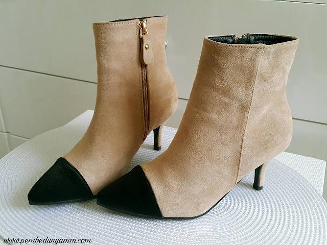 mini topuklu botlar