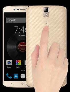 elephone p8000 finger print scanner