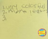 Peer to Peer Feedback in a Second Grade Classroom