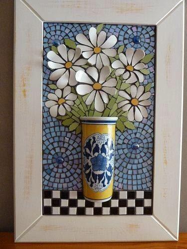 Astute Homestead 3d Daisy Mosaic