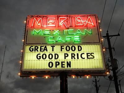 Merida Mexican Cafe (neon signage)