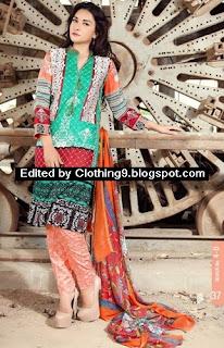 Ayesha Chottani Midsummer Eid Dresses 2015
