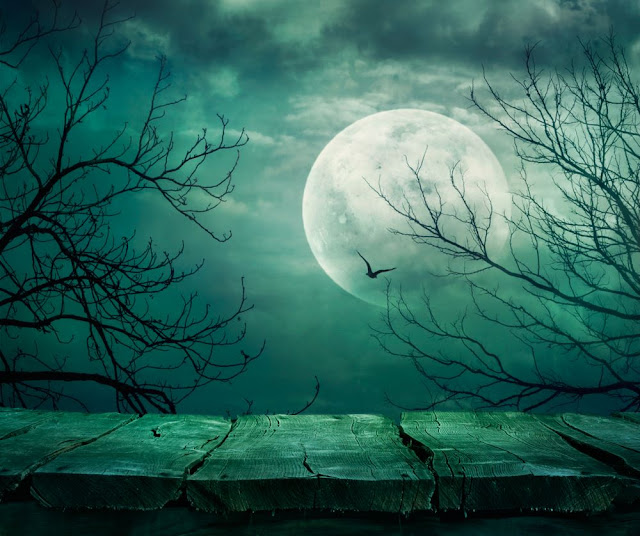 Scary Halloween Background Wallpapers