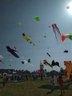 International Kite Festival 2018 Pangandaran-gbr3