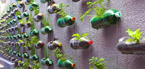 botol plastik kerajinan