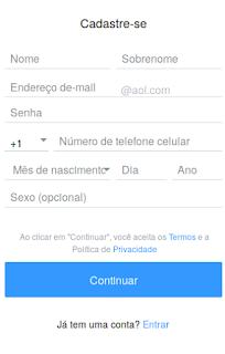 Fazer email AOL de graça passo a passo