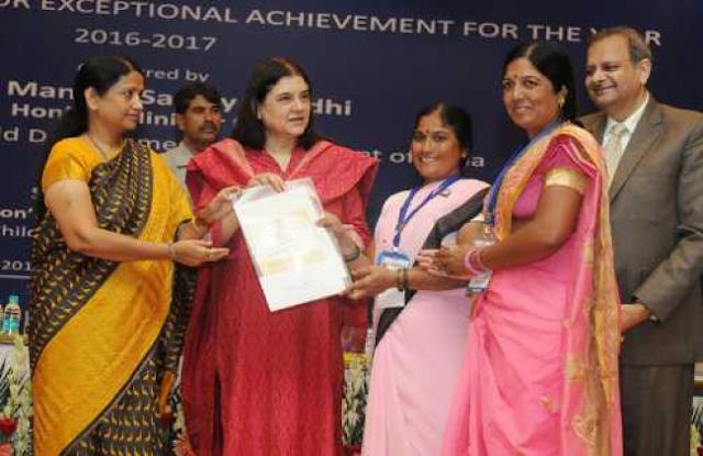 NATIONAL+AWARDS+TO+ANGANWADI+WORKERS