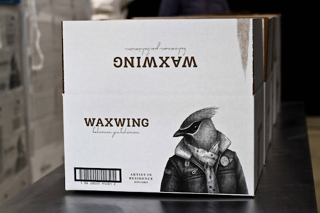 waxwing,gin,gatineau,nouveau,quebecois,artist-in-residence,distillerie,madame-gin