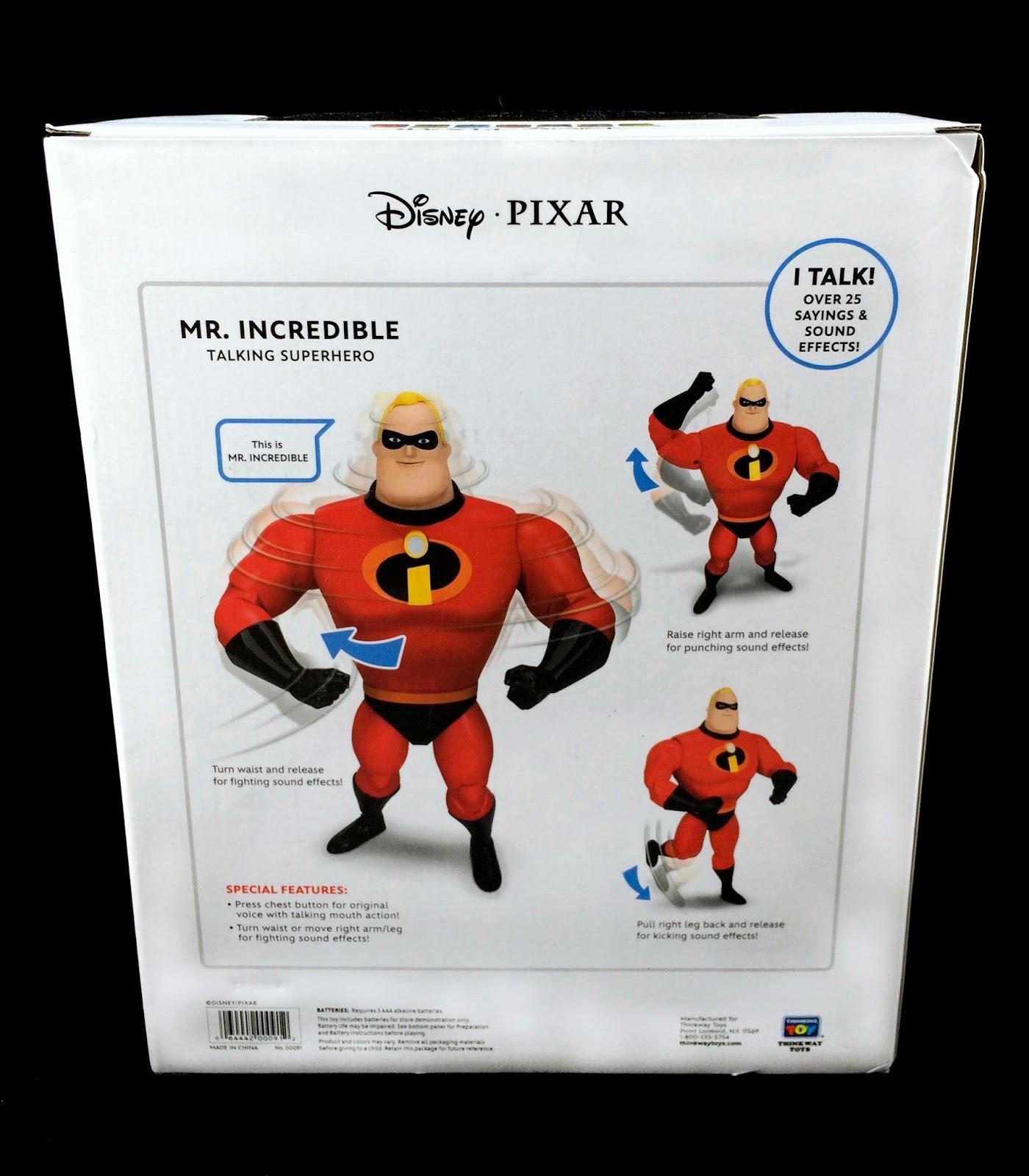 Dan the Pixar Fan: The Incredibles: Mr  Incredible Talking