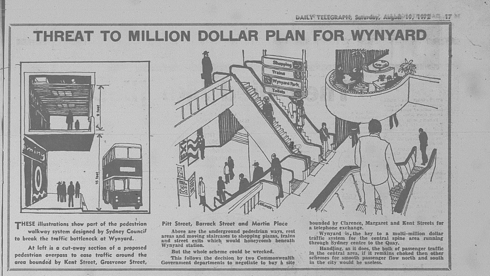Wynyard station toilets