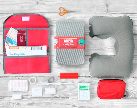 Kit para viajero. 5 regalos para unas navidades viajeras