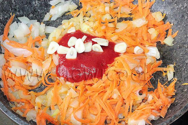 рецепт постного борща с фасолью с пошаговыми фото