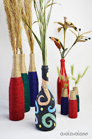 http://www.cucicucicoo.com/2016/04/wine-bottle-crafts-upcycled-vases/