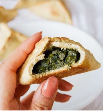 spinach fatayer recipe