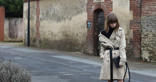 New way to wear our trenchcoat