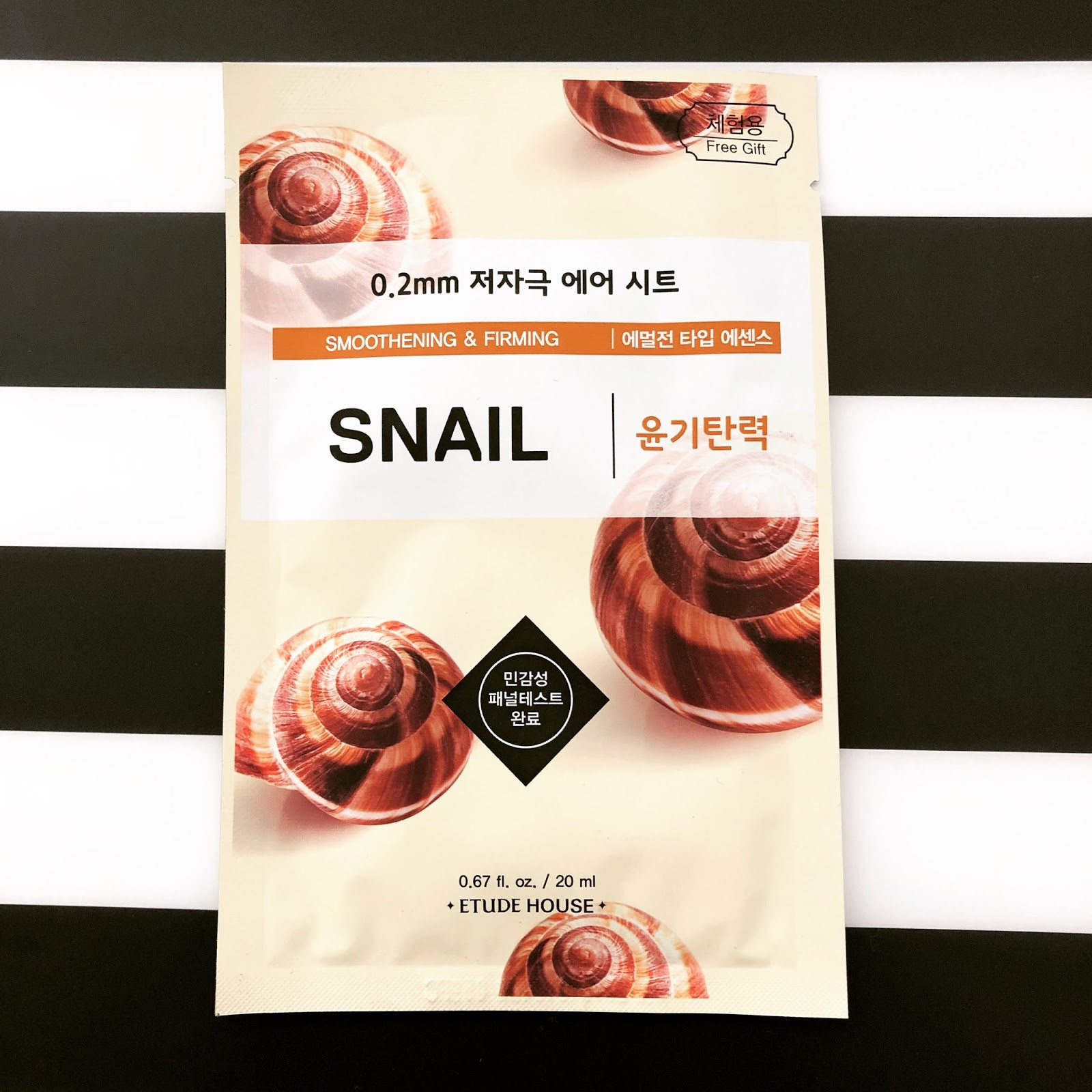 Review: Etude House 0 2mm Therapy Air Mask in Snail | REYAR KYAW