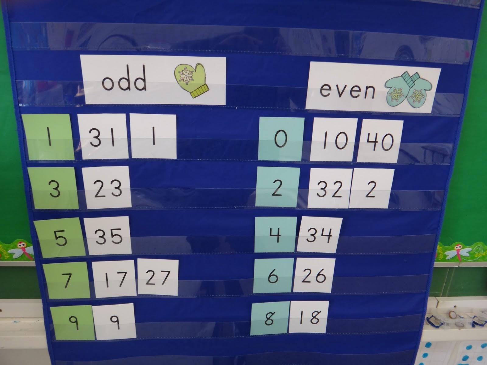 First Grade Garden: Math Freebie! {Even and Odd Number Sort} [ 1200 x 1600 Pixel ]
