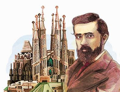 Resultado de imaxes para el modernismo antonio Gaudi