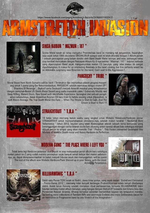 PREPARE SOON - ARMSTRETCH RECORDS INVASION !!!!!