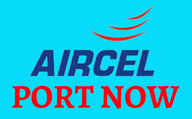 how to port aircel to airtel