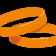 オレンジバンドのイラスト