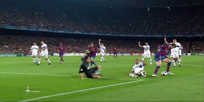 UEFA-4 : Barcelona 1 vs 0 Inter Milan 29-04-2010