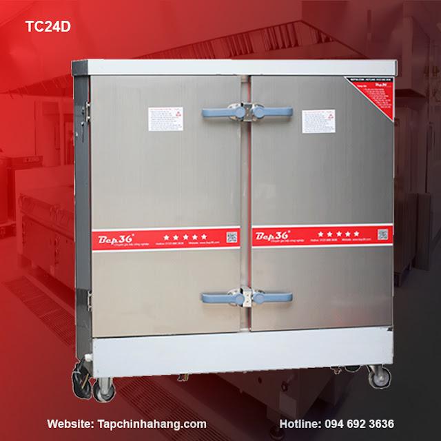 Tủ cơm 24 khay sử dụng điện TCD24-2018