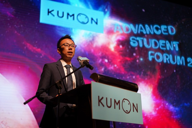 Mr Sugawa, General Manager of Kumon Malaysia