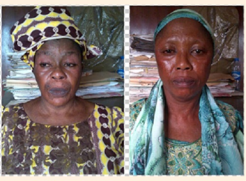 2 Nigerian Grandmothers Arrested At Lagos Airport With Cocaine and Heroin - Photos