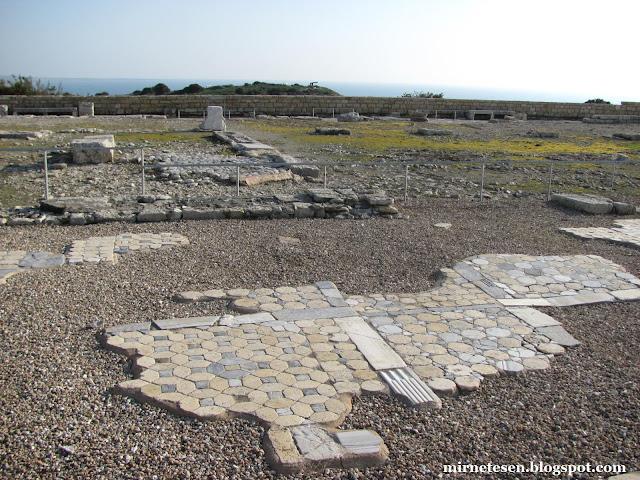 Курион - руины раннехристианской базилики