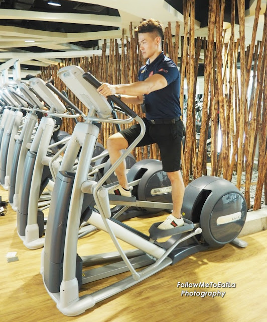 Fitness Manager, Rico Choo