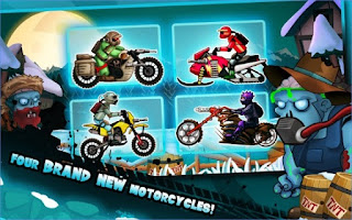 Game Zombie Shooter Motorcycle Race App