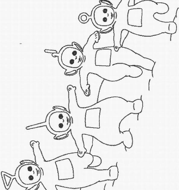 teletubbie coloring pages - photo#33