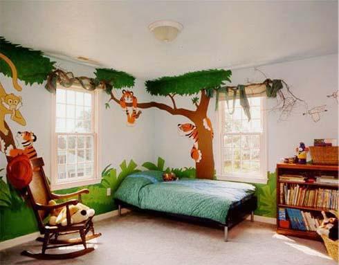 Lukisan Hewan Untuk Hiasan Dinding Rumah Yang Cocok Untuk Ruangan Anak