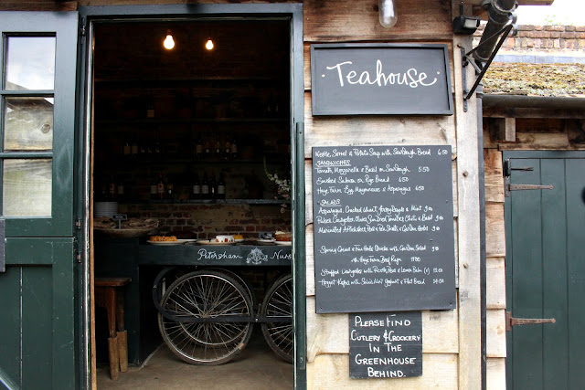 Teahouse and cafe