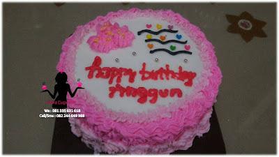 Kue Tart Ulang tahun Sweet Seventeen Buat Mbak Anggun Sidoarjo