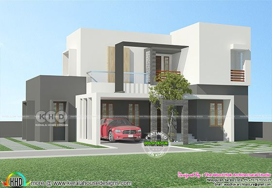 Flat roof 4 bedroom house 1580 square feet
