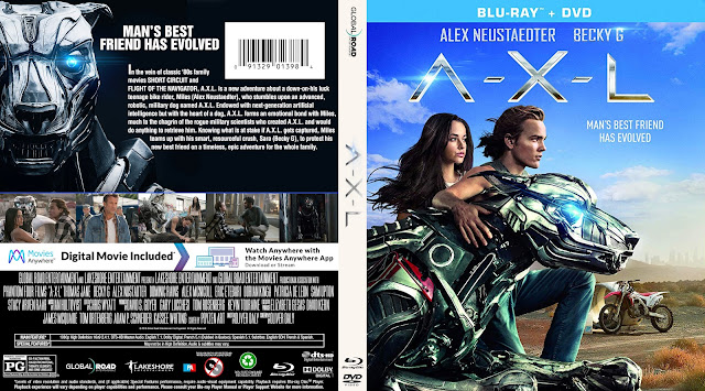 A-X-L Bluray Cover