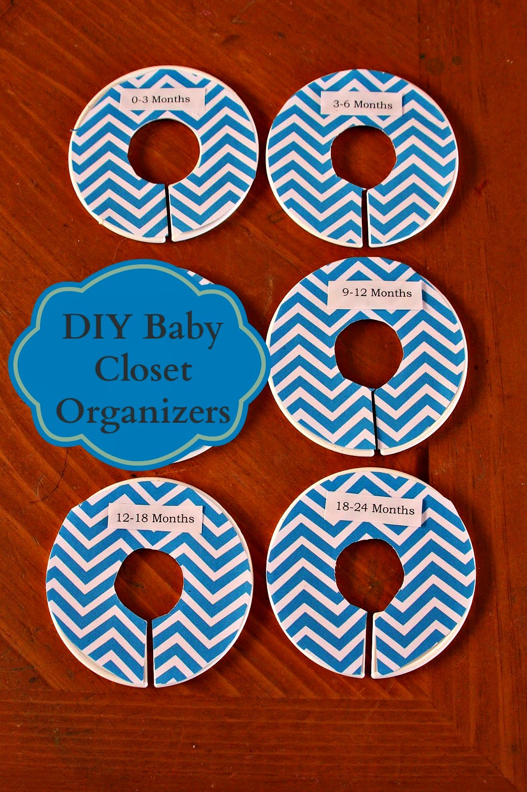 Our Pinteresting Family Diy Baby Closet Dividers