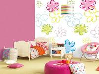 Wände Farbig Gestalten Kinderzimmer