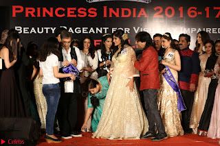 John Aham, Bhagyashree, Subhash Ghai and Amyra Dastur Attends Princess India 2016 17 064.JPG