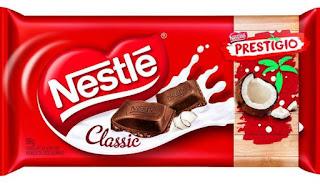 Novo Lançamento Chocolate Nestlé Barra Tablete 2017