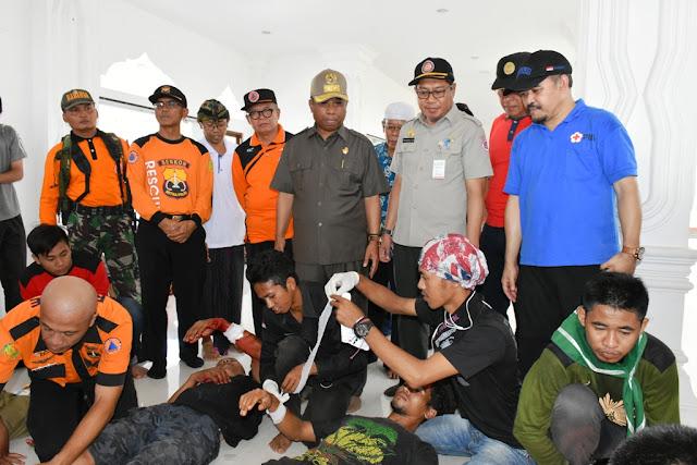 Wagub NTB : Antisipasi Bencana Perlu Kesiapsiagaan