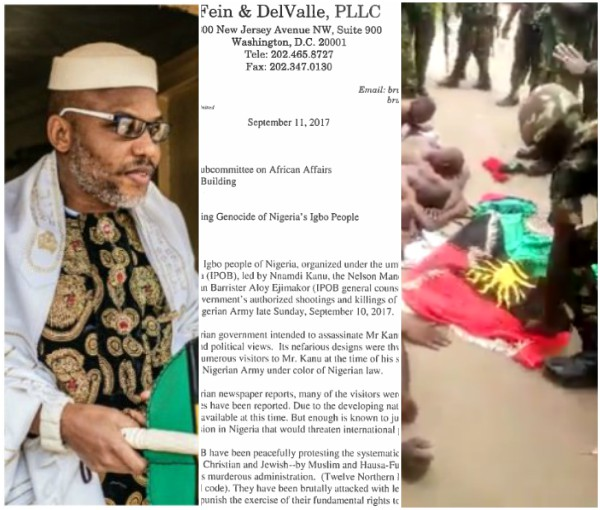 Nnamdi Kanu petitions UN, US and Russia over army invasion