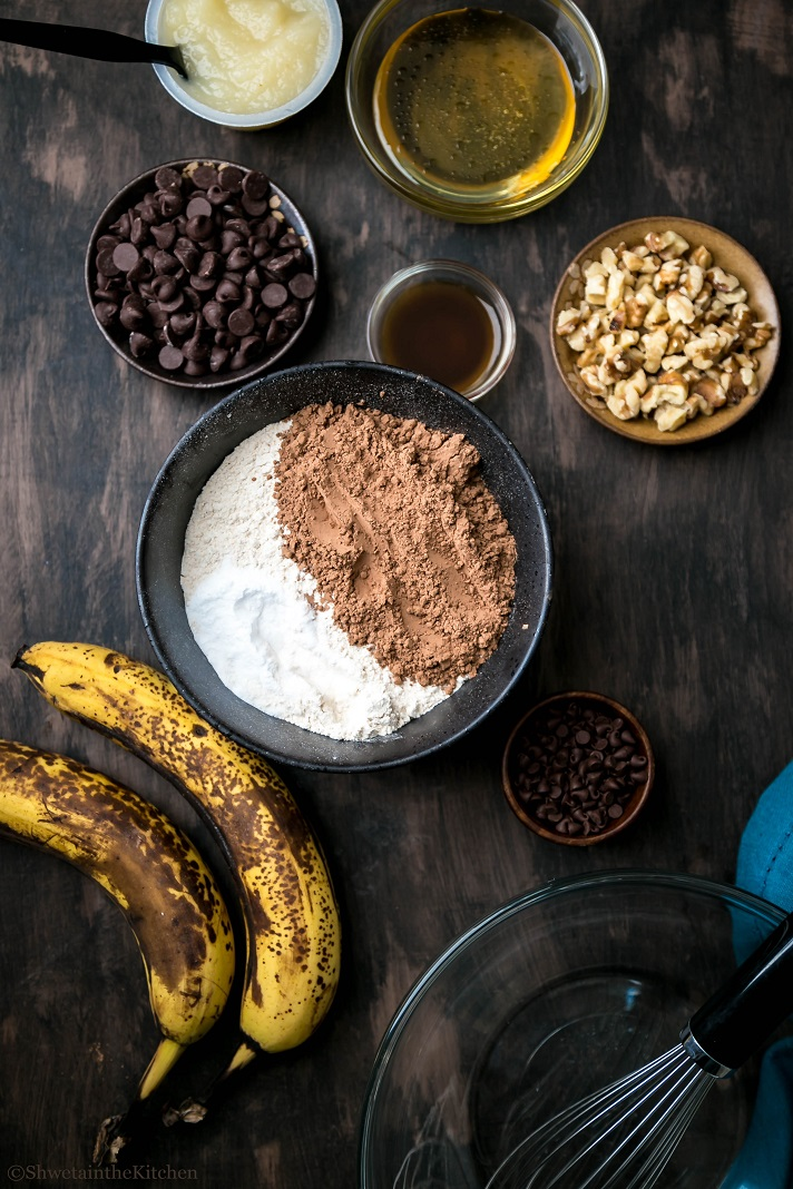 chocolate Banana Cake - Ingredients