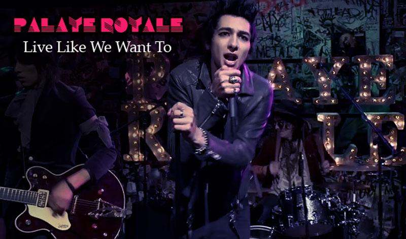 Guitar Chords PALAYE ROYALE - Live Like We Want To - Lyrics and ...