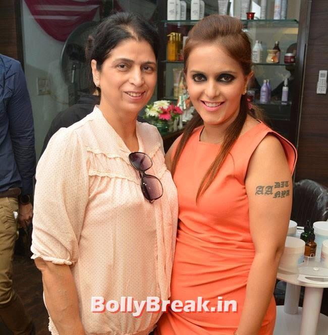 Nirmal Luthra and Preeti Kapoor, Hair and Makeup Studio 'ANGE', Launch Pics