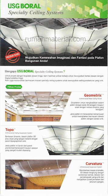 USG Boral Speciality Ceiling System