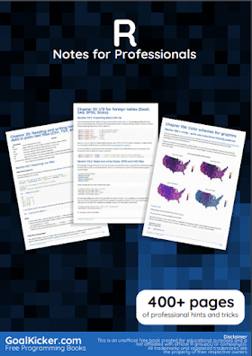 R programming PDF Book Notes | Free Download