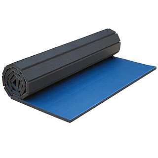 Greatmats roll out mats wrestling grappling